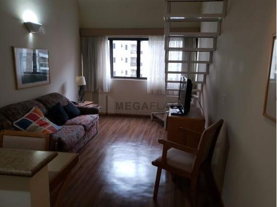 04997 - Flat 1 Dorm. (1 Suíte), Moema - São Paulo/sp - 4997