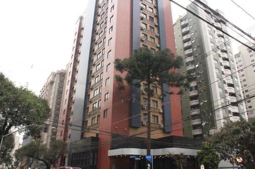 Flat À Venda, 36 M² Por R$ 185.000,00 - Centro - Curitiba/pr - Fl0001