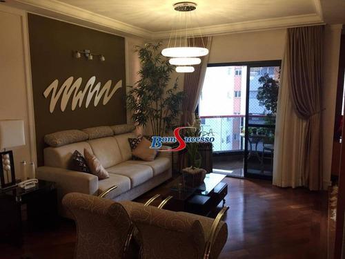 Imagem 1 de 30 de Apartamento Com 3 Dormitórios À Venda, 147 M² Por R$ 1.375.000 - Jardim Anália Franco - São Paulo/sp - Ap3014