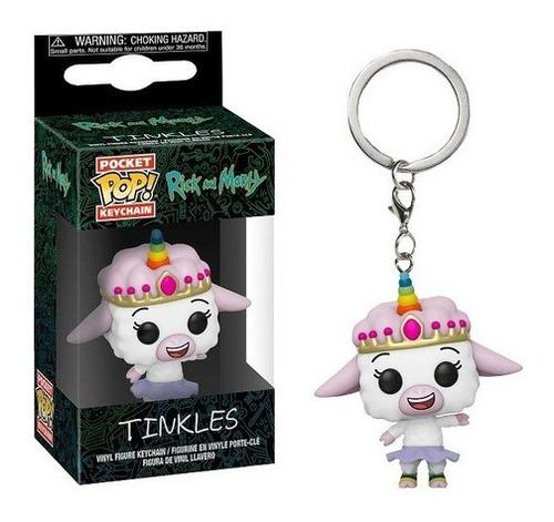 Imagem 1 de 5 de Pocket Pop Keychain Chaveiro Funko - Tinkles  Rick And Morty