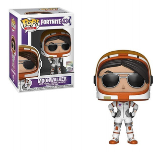 Muñeco Funko Pop Fortnite Moonwalker 434 Original Oferta!