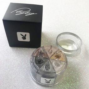Kit Sombras Glitter Asa De Borboleta Playboy Com 6 Cores