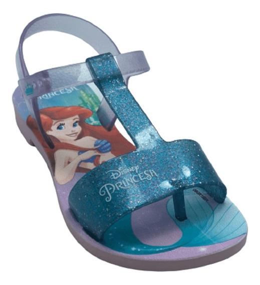 Sandalia Infantil Disney Princesas Fantasy 22112