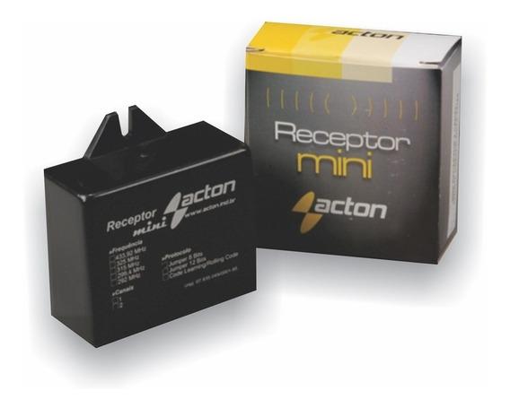 Receptor Mini 433 Mhz Ac4 2 Canais - Acton