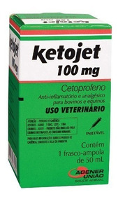 Ketojet Injetável 100 Mg - 50 Ml | Cetoprofeno