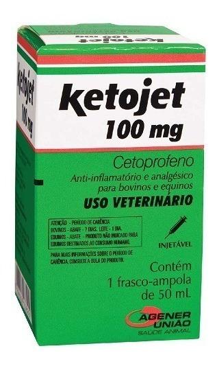Ketojet Injetável 100 Mg - 50 Ml   Cetoprofeno