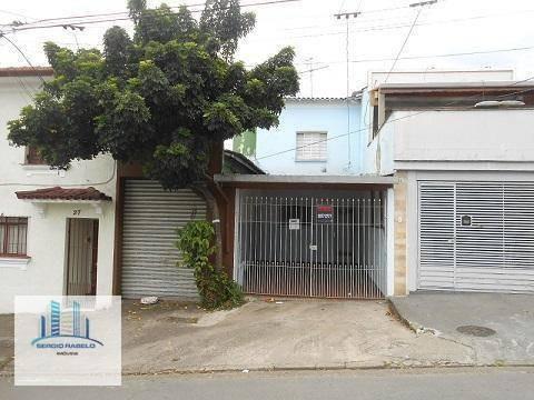 Imagem 1 de 10 de Casa Residencial À Venda, Ipiranga, São Paulo. - Ca0095