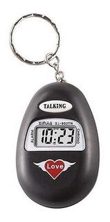 Reloj Llavero Original Xinjia Habla Dice La Hora Parlante