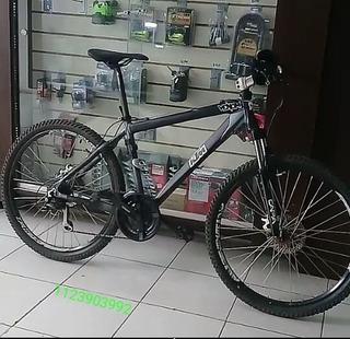 Bicicleta Montañera Custom Rodado 26 Frenos De Disco.