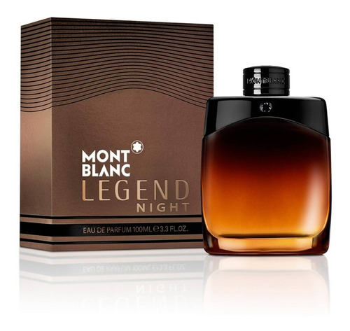 Mont Blanc Legend Night  100 Ml - L a $1700
