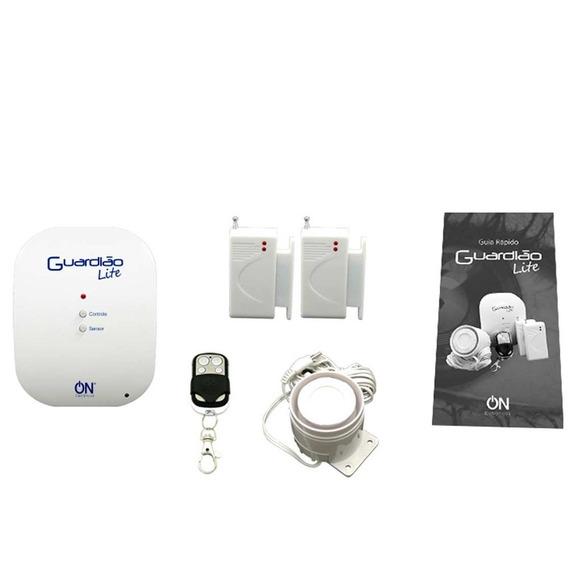 Alarme Sem Fio Residencial Guardião Lite - 120db