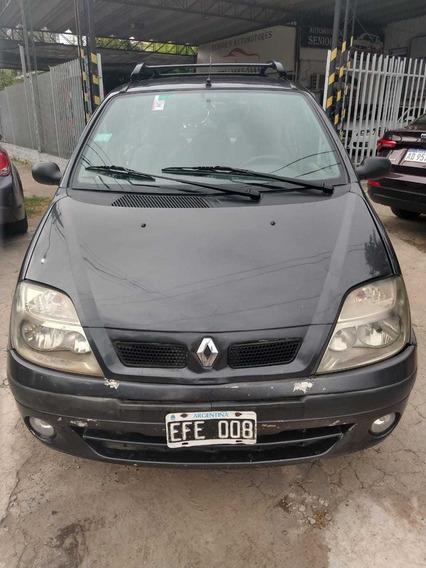 Renault Scénic 2003 1.6 Nafta/gnc Gris Oscuro