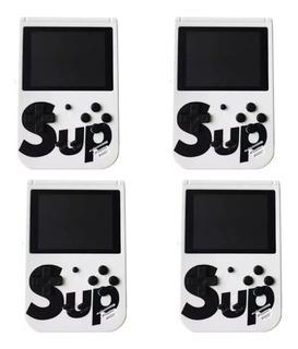 Kit De 4 Game Box Sup 400 Juegos Mini Consola Recargable