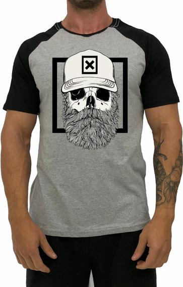 Kit 4 Camiseta Masculina Academia T-shirt Treino Estampada