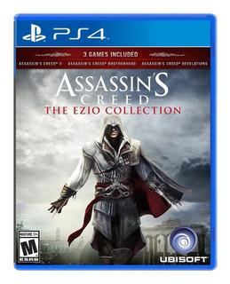 Assassins Creed The Ezio Collection Ps4 Nuevo Y Sellado