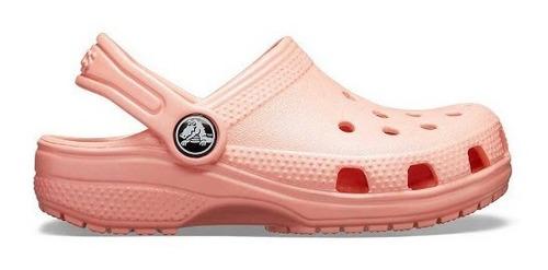 Crocs Originales Classic Melon Salmon Mujer