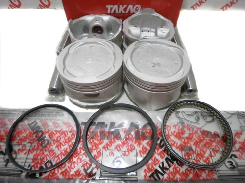 Imagem 1 de 4 de Jogo De Pistão E Anéis Toyota Corolla 1.8 16v Até 01 7afe