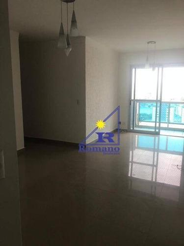 Apartamento Com 3 Dormitórios Para Alugar, 90 M² Por R$ 3.200,00/mês - Tatuapé - São Paulo/sp - Ap4290