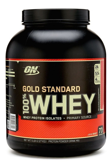 Proteína Whey Gold Standard Optimum Nutrition 5lb