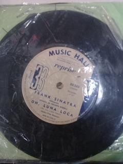 Disco Simple Frank Sinatra 30583 Oh Luna Loca En La Plata
