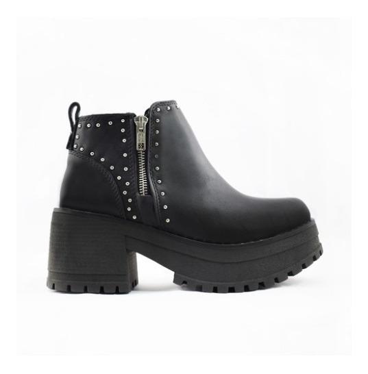 Botas Borcegos Mujer Cuero Savage Art Bor-362 Zona Zapatos