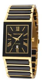 Relógio Technos Misto Cerâmica Safira 2015cf/4p