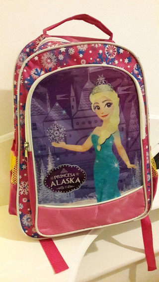 Mochila Infantil Princesa - 1 Unid / Bolsa Menina Escolar
