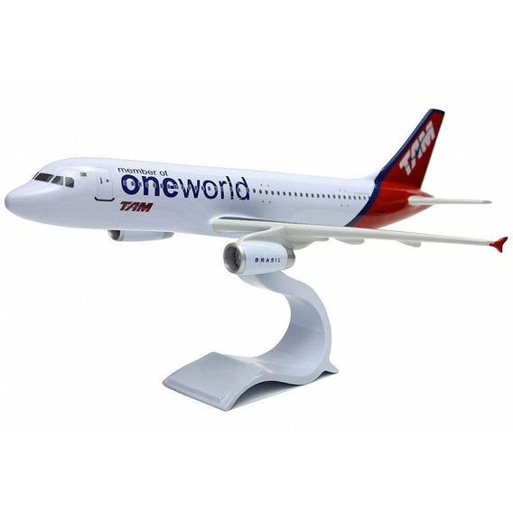 Maquete Airbus A320 - Tam (oneworld)