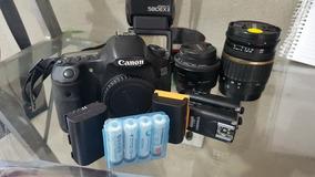 Canon 60d, Tamron 17-50 2.8, Yn 35 2.0, Canon 580ex2, Bateri