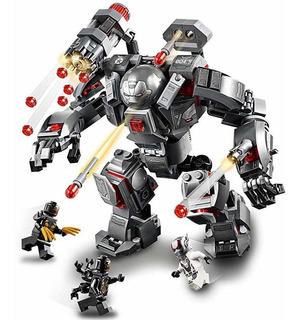 War Machine Buster Tipo Lego Juguetes Niño Avengers