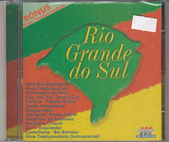 Rio Grande Do Sul - Cd Seleção Gaúcha - Lacrado!