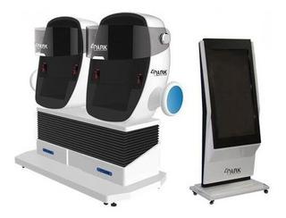 Arcade Vr 2 Asientos Roboticos, Lentes Pimax 2k Vr