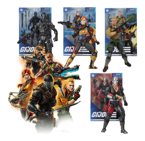 Gi Joe Figuras Classified Series Hasbro