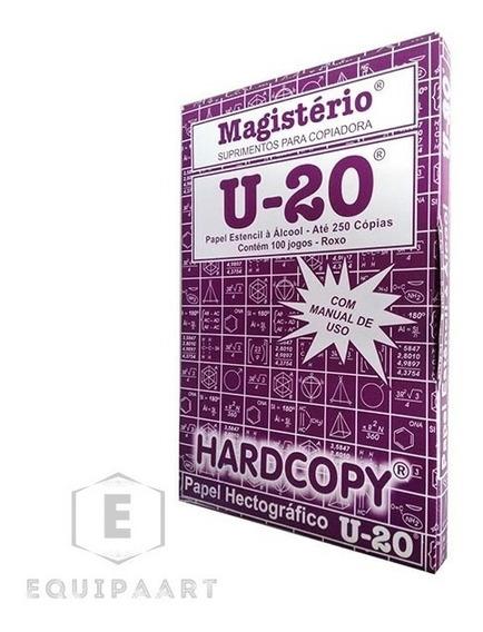 Papel Hectografico U20 Kit Com 100 Folhas Tattoo Tatuagem