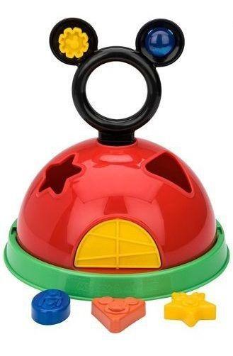 Sandálias Infantil Diversão Casa Do Mickey Minnie +brinquedo