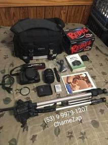 Equipamento Fotografico Completo Canon T3i /em Mãos 600, 00