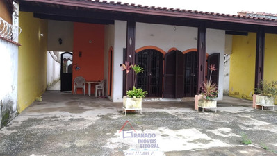 Casa Na Praia De Mongaguá 4 Dorm. 4 Banheiros. Oportunidade