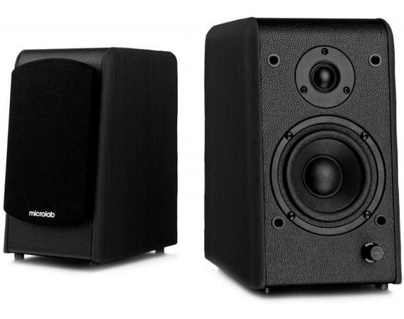 Monitor De Audio Microlab Ativos B77 2.0 64w Com Bt