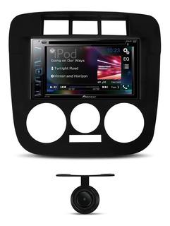 Dvd Player 2din Pioneer Multimídia Gol G4 + Câmera De Ré