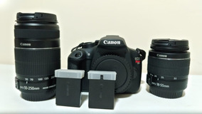 Kit Para Iniciantes Em Fotografia - Canon T5 E 2 Lentes