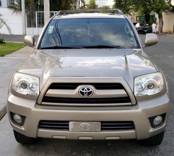 Toyota 4runer Limited Dorada 2008 Piel 4wd
