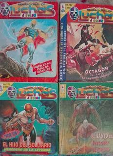 Sensacional De Luchas - 4 Revistas De Colección