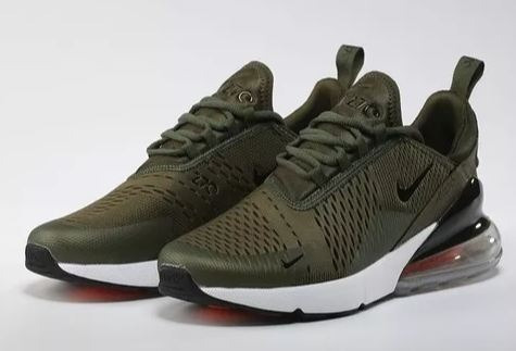 Nike Air Max 270 Gel Dark Green Masculino-verde Original