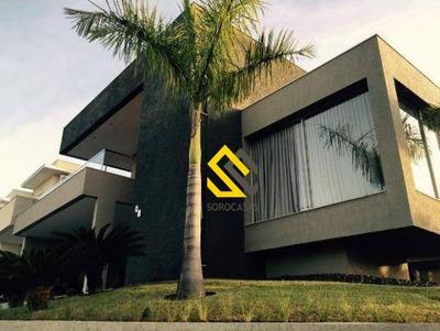 Casa Com 4 Dormitórios À Venda, 410 M² Por R$ 2.800.000 - Condomínio Mont Blanc - Sorocaba/sp - Ca1250