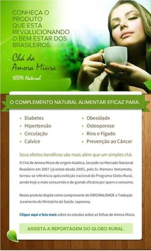 Kit 2 Chá De Amora Miura - 70 Dias - Emagreça Com Saúde