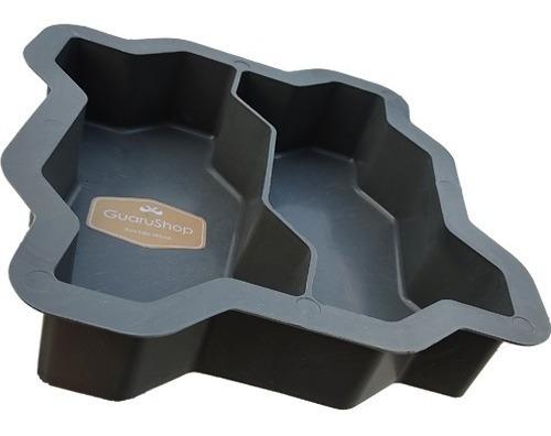 Forma Dupla Para Paralelepipedo De Cimento Intertravada 6cm