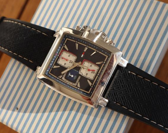 Relógio Tommy Hilfiger Quadrado Quartz Azul Usado