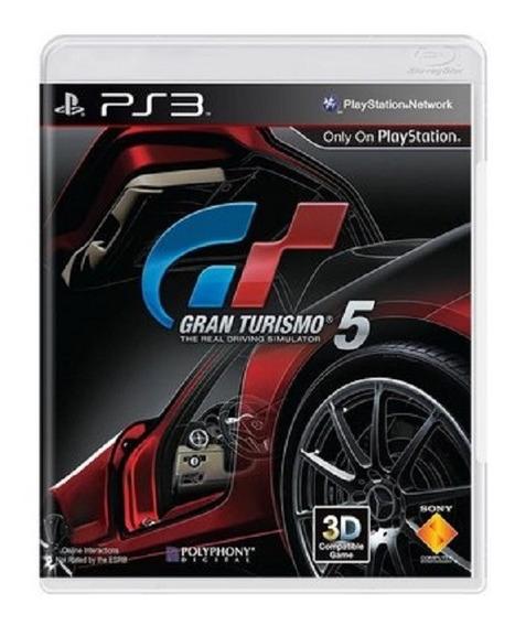 Gran Turismo 5: The Real Driving Simulator - Mídia Física