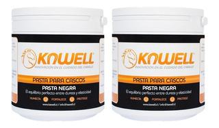Pack 2 Pastas Kawell Para Cascos Caballo - 500cc C/u
