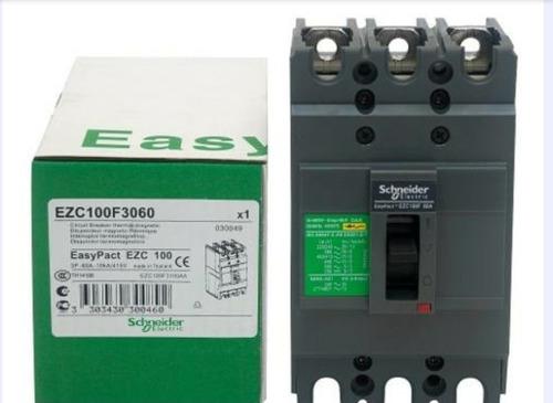Totalizador Breker Industrial Regulable De 88 A 125 Amp Schn